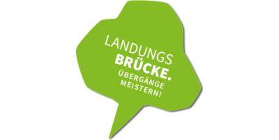"""Das Logo des Projekts """"Landungsbrücke-Übergänge meistern"""""""