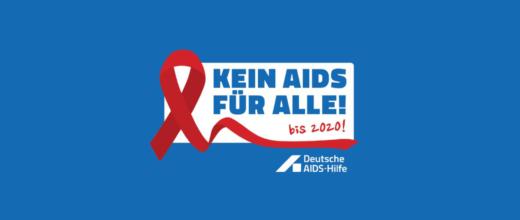"""Das Logo der """"Kein Aids für Alle"""" Kampagne"""